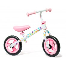Bici sin pedales rosa (SIN CASCO)