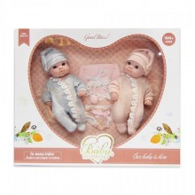 Dos muñecos bebes