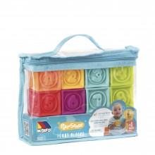 bolsa cubos sensoriales 8 pcs